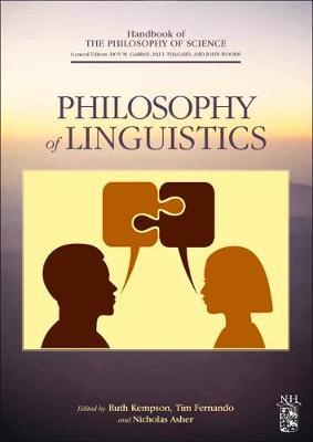 Philosophy of Linguistics - Handbook of the Philosophy of Science (Hardback)