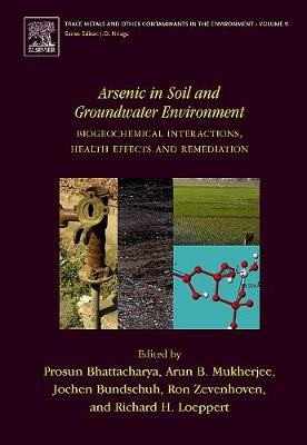 Arsenic in Soil and Groundwater Environment: Volume 9: Biogeochemical Interactions, Health Effects and Remediation - Trace Metals and Other Contaminants in the Environment (Hardback)