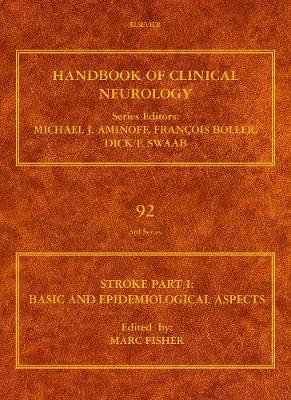 Stroke: Basic and Epidemiological Aspects Part I - Handbook of Clinical Neurology 92 (Hardback)