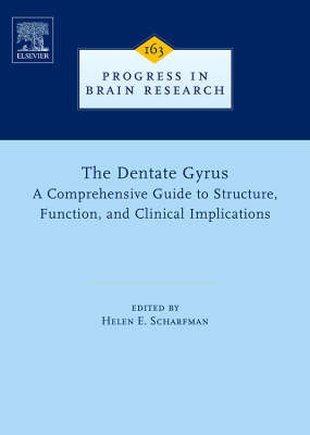 The Dentate Gyrus: A Comprehensive Guide to Structure, Function, and Clinical Implications - Progress in Brain Research v. 163 (Hardback)
