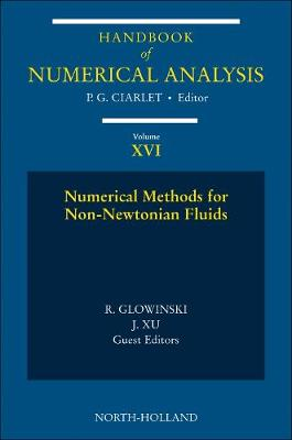 Numerical Methods for Non-Newtonian Fluids: Volume 16: Special Volume - Handbook of Numerical Analysis (Hardback)