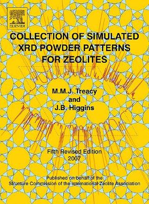 Collection of Simulated XRD Powder Patterns for Zeolites Fifth (5th) Revised Edition (Paperback)