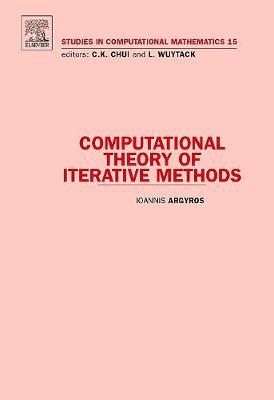 Computational Theory of Iterative Methods: Volume 15 - Studies in Computational Mathematics (Hardback)