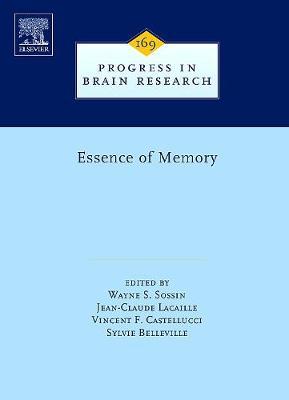 Essence of Memory: Volume 169 - Progress in Brain Research (Hardback)