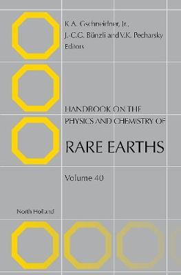 Handbook on the Physics and Chemistry of Rare Earths: Volume 35 - Handbook on the Physics & Chemistry of Rare Earths (Hardback)