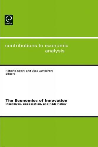 The Economics of Innovation - Contributions to Economic Analysis 286 (Hardback)