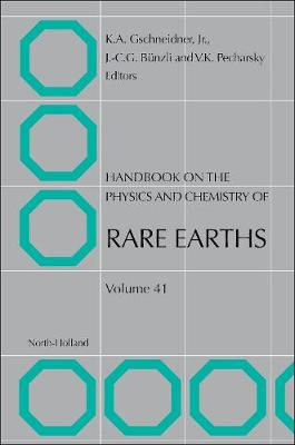 Handbook on the Physics and Chemistry of Rare Earths: Volume 33 - Handbook on the Physics & Chemistry of Rare Earths (Hardback)