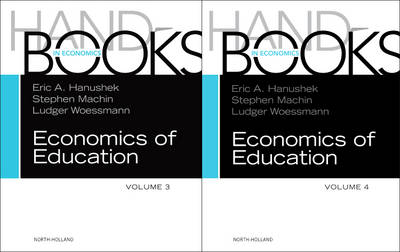 Handbook of the Economics of Education SET: Volume 0