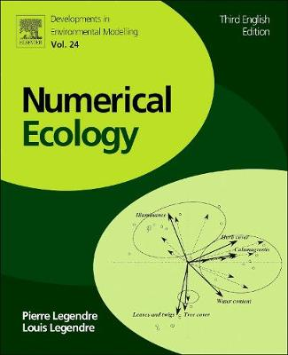 Numerical Ecology: Volume 24 - Developments in Environmental Modelling (Paperback)