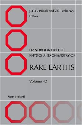 Handbook on the Physics and Chemistry of Rare Earths: Volume 44 - Handbook on the Physics & Chemistry of Rare Earths (Hardback)