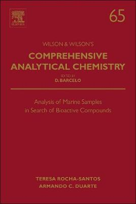 Analysis of Marine Samples in Search of Bioactive Compounds: Volume 65 - Comprehensive Analytical Chemistry (Hardback)