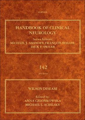 Wilson Disease: Volume 142 - Handbook of Clinical Neurology (Hardback)