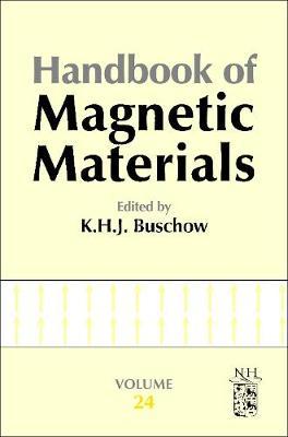 Handbook of Magnetic Materials: Volume 24 - Handbook of Magnetic Materials (Hardback)