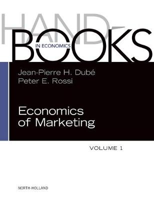 Handbook of the Economics of Marketing: Volume 1 (Hardback)