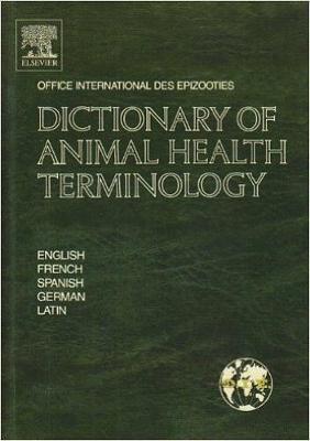 Dictionary of Animal Health Terminology: In English, French, Spanish, German and Latin (Hardback)