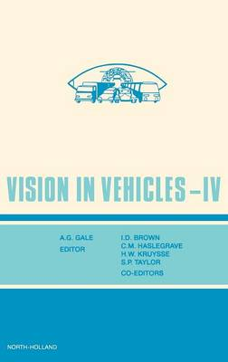 Vision in Vehicles IV - Vision in Vehicles (Hardback)