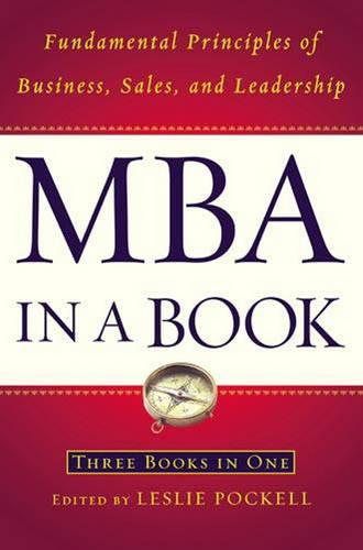 MBA in a Book: Fundamental Principles of Business, Sales and Leadership (Hardback)