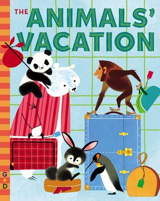 The Animals' Vacation (Board book)