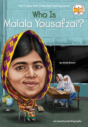Who Is Malala Yousafzai? (Board book)