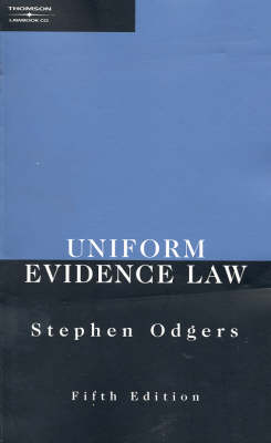 Uniform Evidence Law (Paperback)