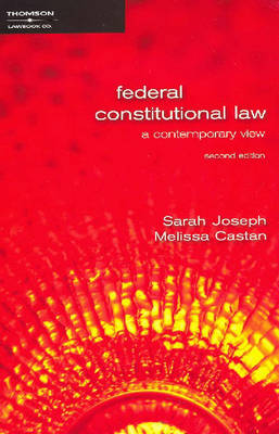 Federal Constitutional Law: A Contemporary View (Paperback)