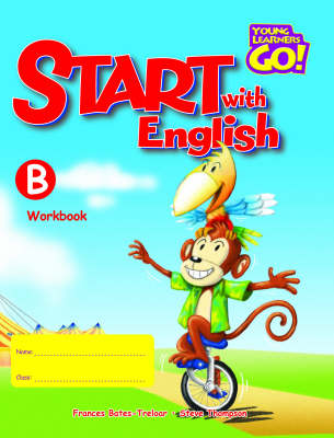 Young Learners Go - Start With English B Workbook (Board book)