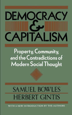 Democracy And Capitalism (Paperback)