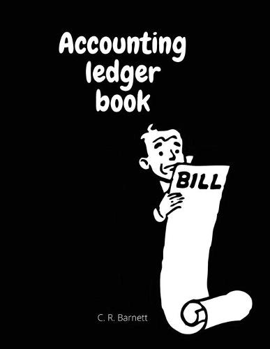Accounting ledger book (Paperback)