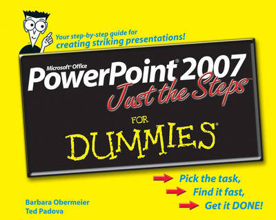 PowerPoint 2007 Just the Steps For Dummies (Paperback)
