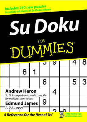 Su Doku for Dummies (Paperback)