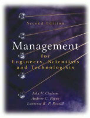 Management for Engineers, Scientists and Technologists (Paperback)