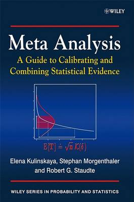 Meta Analysis: A Guide to Calibrating and Combining Statistical Evidence - Wiley Series in Probability and Statistics (Paperback)