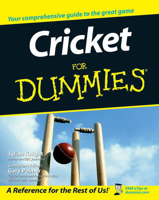 Cricket For Dummies (Paperback)
