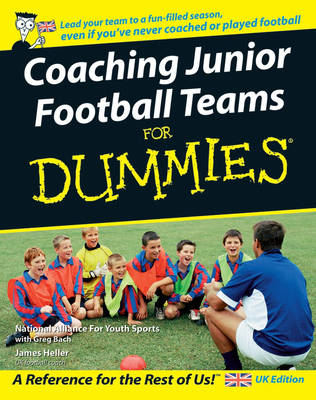 Coaching Junior Football Teams For Dummies (Paperback)
