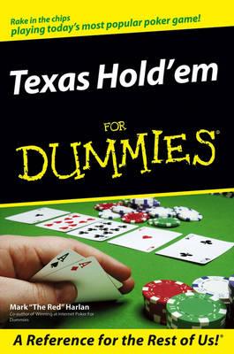 Texas Hold'em For Dummies (Paperback)