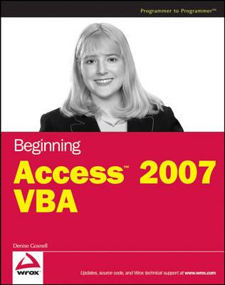 Beginning Access 2007 VBA (Paperback)