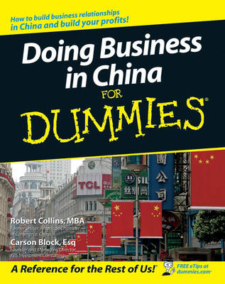 Doing Business in China For Dummies (Paperback)