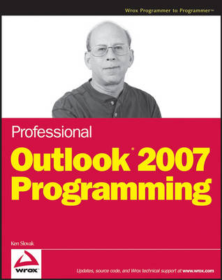 Professional Outlook 2007 Programming (Paperback)
