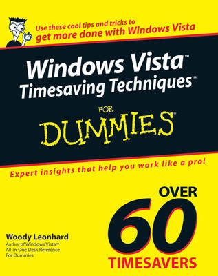 Windows Vista Timesaving Techniques For Dummies (Paperback)