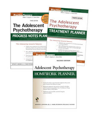 The Adolescent Psychotherapy Treatment Planner: WITH Adolescent Psychotherapy Homework Planner 2r.e. AND The Adolescent Psychotherapy Progress Notes Planner 3r.e. - PracticePlanners (Paperback)