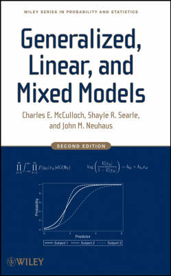 Generalized, Linear, and Mixed Models - Wiley Series in Probability and Statistics (Hardback)