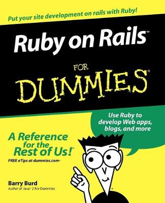 Ruby on Rails For Dummies (Paperback)