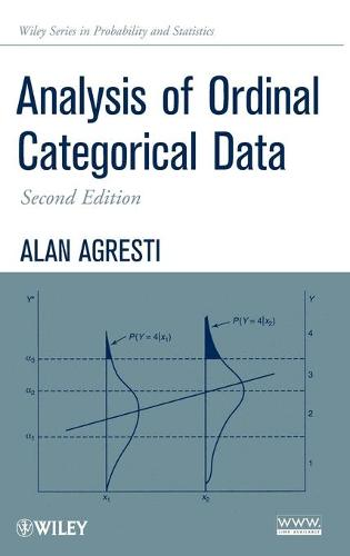 Analysis of Ordinal Categorical Data - Wiley Series in Probability and Statistics (Hardback)