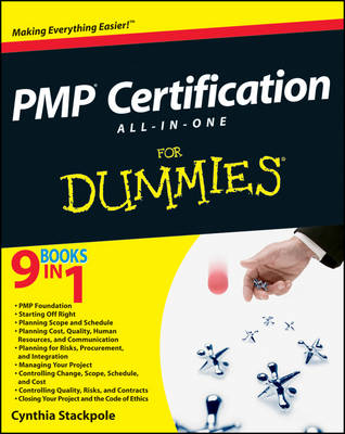 PMP Certification All-in-One Desk Reference For Dummies (Paperback)