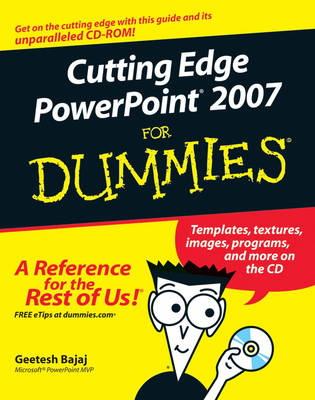 Cutting Edge PowerPoint 2007 For Dummies (Paperback)