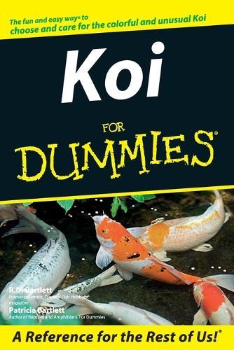 Koi For Dummies (Paperback)