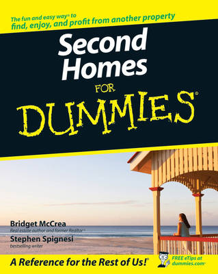 Second Homes For Dummies (Paperback)