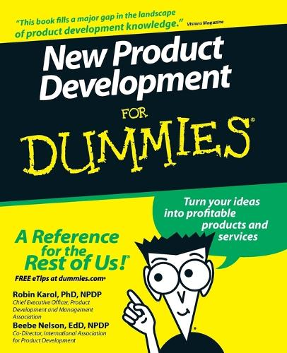 New Product Development For Dummies (Paperback)