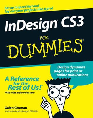 InDesign CS3 For Dummies (Paperback)