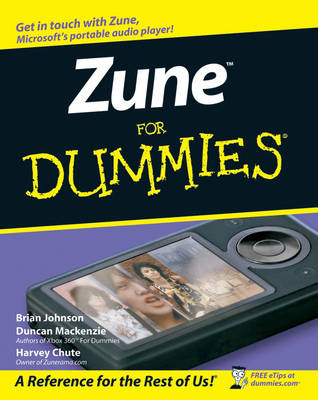 Zune For Dummies (Paperback)